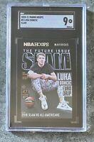 2020-21 NBA Hoops Luka Doncic SLAM #5 Mavericks Graded SGC 9