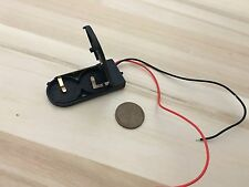 1 piece CR2032 Button Coin Cell Battery Holder Case Box On Off Switch Wire B10