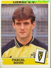 208 PASCAL BOVRI BELGIQUE LIERSE.SV STICKER FOOTBALL 1996 PANINI