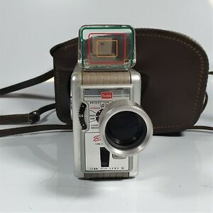 Kodak Brownie 8mm Movie Camera II In Case- Working Condition (Read Description)