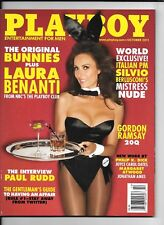 Back Issue October 2011 Playboy ~ Laura Benanti Cover ~ EXcellent