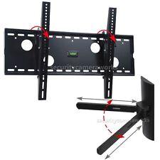 """Tilt TV Wall Mount 40-70""""LED LCD Plasma 46 50 55 60 65+Universal DVD Bracket BLC"""