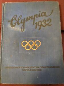 Sammelalbum Olympia 1932, Los Angeles, Reemtsma Cigarettenfabriken, komplett
