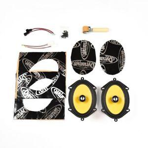 "Ford Fiesta MK6 Speaker Upgrade Kit - PREMIUM Plug And Play | 6x8"" 450W"