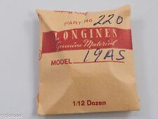 Longines Genuine Material Part #220 Fourth Wheel Complete for Longines Cal. 19AS