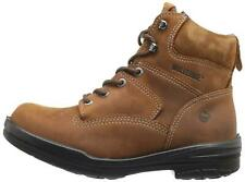 Wolverine Mens Wolverine Closed Toe Mid-Calf Safety Boots, Brown, Size 12.0 Jrod