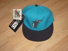 New Era Florida Marlins Fitted Size 6 5/8 Authentic Baseball Hat/Cap/Free Ship!