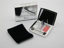 Dior Blue-Tie Eyeshadow & Lip Gloss Smoky Eyes & Nude Lips 002 Smoking White