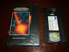 STAR TREK VI: The Undiscovered Country (VHS,1992)~Version w/2 additional minutes