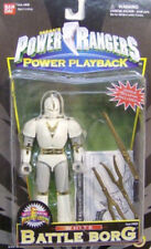 Mighty Morphin Power Rangers Power Playback White Battle Borg By Bandai (MOC)