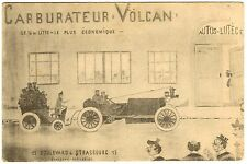 POSTCARD FRENCH CARBURATEUR VOLCAN AUTO ADVERTISING