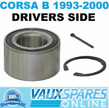 CORSA B FRONT WHEEL BEARING KIT DRIVERS OFF RIGHT HAND SIDE GLS LS ENVOY CLUB