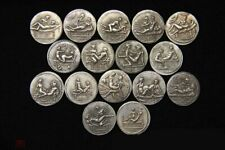 Set of 16 coins Ancient Roman Spintria (also a brothel mark) sex