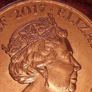 2017 2p coin - THE ROYAL SHIELD OF ARMS two pence coin - mintage 16,600,000 (C)