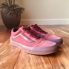 VANS Old Skool Skate Shoes Mono Port Royale Men's Size 9 Burgundy  Sneakers