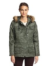 Alpha Industries Sage Green Adrienne Lightweight Parka Size Small NEW S/O $145
