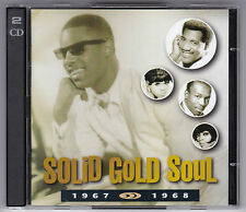 Solid Gold Soul - 1967-1968 Time Life tl642/01 GERMANY 2 CD 's/come nuovo! MINT!