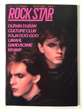 Rock Star Magazine 1984 Japanese Edition Volume 1 with Interview Record