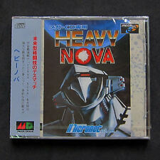 Brand New Sealed Sega Mega CD Heavy Nova Game Japan Import Genesis