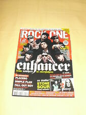 ROCK ONE MAG N°19 Mars 2006 Enhancer Korn Placebo Simple Plan Fall Out Boy