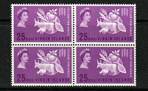 BRITISH VIRGIN IS. 1963 SET, FREEDOM FROM HUNTER.   M.N.H./MINT