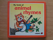 Ladybird book. Square Book My Book of Animal Rhymes Series S8711