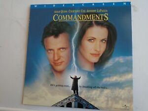 Commandments Laserdisc Ntsc Pantalla Ancha Courteney Cox