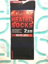UNISEX THERMO-FEEL STRIPED #3 HEATED SOCKS X-TRA THICK 2.3 TOG SIZE 10-13