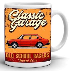 SAAB 99 TURBO Coffee Tea Mug Cup Gift 11oz High Quality Ceramic