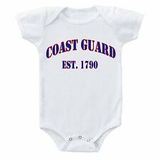 USCG United States Coast Guard Est. 1790 Baby one-piece Bodysuit Romper