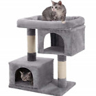 Cat Tree Tower With Sisal Scratching Post Cat Toy Pet Toys Supplies New 1 Set