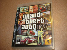 Grand Theft Auto IV PS3 GTA 4 Complete Sony PlayStation 3 NICE