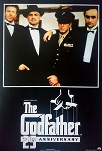 Der Pate - The Godfather: 25th Anniversary (1997)    US Filmplakat, Poster