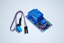 5V Shock Sensor Relay Vibration Alarm Switch Module Normally Closed A423