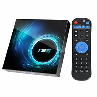 T95 4K HD 16/32G ANDROID10 BLUETOOTH 5.0 WIFI SMART TV SET TOP BOX MEDIA PLAYER