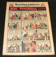 1949 Sunday Mirror Weekly Comic Section July 31st (VF) Superman Lil Abner Killer
