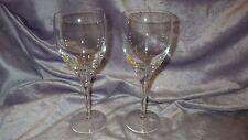 Crystal White Wine Glasses Stems Solid Crystal stem 2 10 oz stems