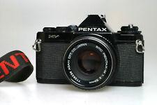 PENTAX MV + PENTAX  2 / 50 mm SCM, + Case + Strap, fully working