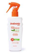 Babaria Aloe Vera Spray Sun Milk SPF 25 UVA/UVB 200ml
