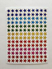 140  Mini Assorted ColorsHolographic Star Stickers Kid projects Envelope Seal