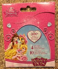 Disney Princess Palace Pets Sticker Book 300+ Stickers New FREE SHIP