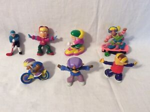 Nickelodeon Rocket Power Figurines 2002