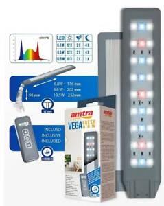 amtra Vega Fresh LED 10.5W - Dimmbare LED Klemmleuchte für Nano Aquarien
