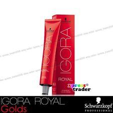 Schwarzkopf Professional Igora Royal Permanent Colour Hair Dye 60ml Golds 8-4 Light Beige Blonde