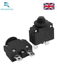 Thermal Switch Circuit Breaker Overload Protect 3A,4A,5A,6A,7A,8A,10A,15A,18A