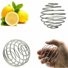Stainless Steel Bottle Mixer Blender Whisk Mixing Ball Protein Shaker Water Cup