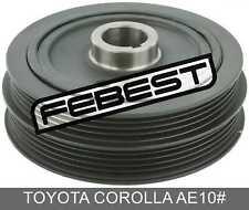 Crankshaft Pulley 4Afe/5Afe/7Afe/8Afe For Toyota Corolla Ae10# (1991-2002)
