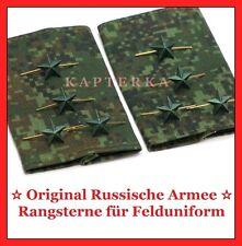 ☆ Original Russische Armee Offizier Rangsterne für Feld-Uniform ☆