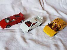 Lamborghini Diabolo, Countach 5000S, 3 Stück 1:43