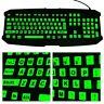 Large Letter Sticker Fluorescent Keyboard Cover Full Keyboard Keyboard Sticker